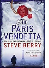 STEVE BERRY ____ THE PARIS VENDETTA____  BRAND NEW ___ FREEPOST UK