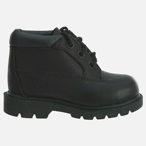 Timberland Infant & Toddlers' Classic 3-Eye Chukka Boot Black 7181R a3