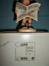 """Rare Hummel""""Frankfurter News"""" Red Headline~Latest News #184 ~Tmk7~Mint In Box"""