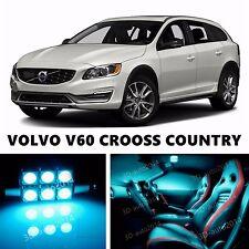 16pcs LED ICE Blue Light Interior Package Kit for VOLVO V60 - V60 CRSS COUNTRY
