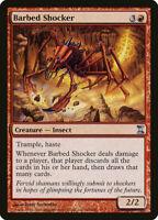 1X FOIL Barbed Shocker MTG Magic TIME SPIRAL 144/301