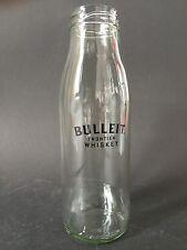 1x Bulleit Whisky Bourbon Frontier Glas Flasche Longdrink Milchflasche NEU OVP