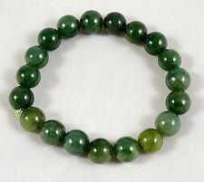 Antique Jade Bracelet (Green stones)