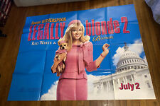 LEGALLY BLONDE 2  5FT SUBWAY MOVIE POSTER 2003 Reese Witherspoon