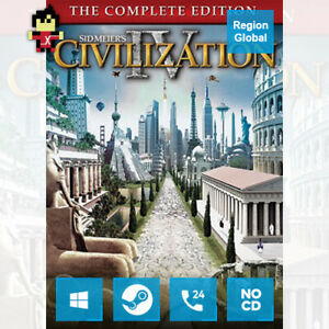Sid Meiers Civilization IV 4 Complete Edition CIV Game Steam Key Region Free