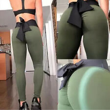 ❤Women Butt Lift Yoga Pants Compression Leggings Gym Sports Scrunch Trousers LC