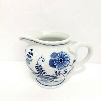 Vintage Blue Danube Porcelain Eight Ounce Creamer Rectangle Mark Japan