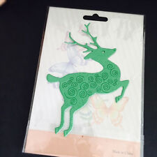 Metal Cutting Dies Stencil Craft Embossing  Christmas Series Silver