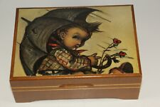 VINTAGE SWISS MUSICAL MOVEMENT REUGE MUSIC BOX BRAHMS LULLABY WORKS