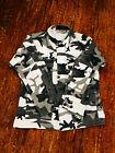 Propper Army Winter Camoflauge Camo Long Sleeve Shirt Medium Regular Combat Coat