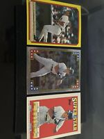 1988 Topps Baseball Year Book Stickers DON MATTINGLY LOT (3 Cards), Yankees MVP