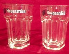 Hoegaarden Belgian Beer Glass Set of 2 Small 3oz. size Free Shipping!