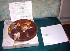 "Vintage 1984 Norman Rockwell Knowles Collector Plate ""Close Harmony"" Coa W/Box"