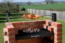 Brick BBQ ROTISSERIE SPIT ROAST FOR BRICK BBQ KITS - ALL STAINLESS