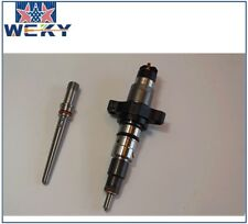 0445120255 Injector with Connector Tube 1 SET for 03-04.5 Dodge Ram Cummins 5.9L