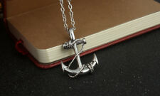 Stainless Steel Pendant Chain Necklace Anchor