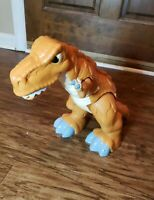 "Fisher-Price ImagiNext Mega T-Rex Roaring Motorized Animated 17"" Dinosaur 2011"
