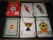 Baraja Española Castañer. FUTBOL MUNDIAL ESPAÑA 1982 . Playing cards.