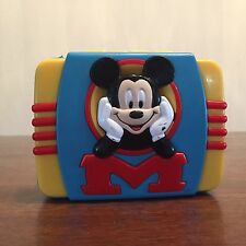 Vintage Rare Disney Mickey Mouse Tuff Cassette Tape Player Walkman Kids Mk-424