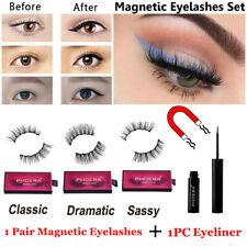 Phoera Magnetic Liquid Eyeliner Gel False Eyelashes Perfect 3D Eye Lashes Set