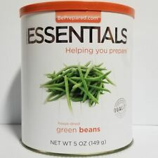 Emergency Essentials Freeze Dried Food Green Beans #10 Can
