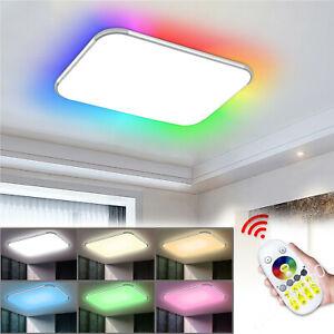 Bright Square Round LED Ceiling Down Light Panel Kitchen Bathroom Lamp RGB QW