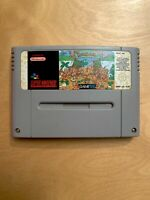 *V.RARE GAME* The Humans - SNES Super Nintendo Game - Cleaned/Tested
