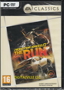 Need for Speed Run PC Brand New Factory Sealed NFS Racing game