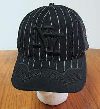 New York Yankees Baseball Cap Embossed Embroidered Adjustable Hat