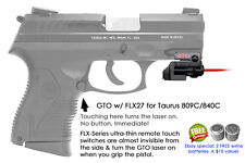 ArmaLaser GTO for Taurus 809c/840c RED Laser Sight w/ FLX27 Grip Touch On/Off