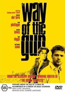 Way Of The Gun DVD Action Movie James Caan - Benicio Del Toro - Taye Diggs