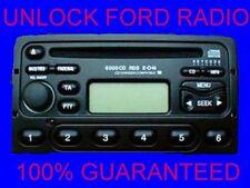 FORD RADIO CODE LOCK1O TRANSIT GALAXY MONDEO FIESTA PUMA COUGAR (24/7 Service)