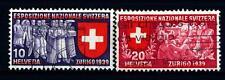 SWITZERLAND - SVIZZERA - 1939 - Esposizione nazionale a Zurigo. Iscrizione in it