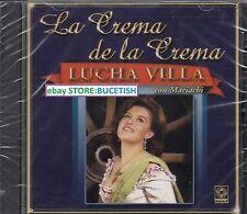 Lucha Villa La Crema de la crema Con Mariachi CD New Nuevo sealed