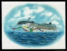 Original Art Work ...ms NORWEGIAN DAWN ...cruise ship...NCL
