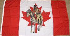 3X5 CANADA INDIAN FLAG NATIVE AMERICAN 3'X'5' NEW F990