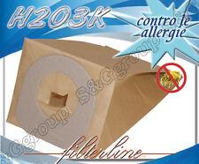 H203K 8 sacchetti filtro carta x Hoover Scope Elettriche Jolly S 2230