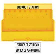 MASTER LOCK S1850 Lockout Station,Unfilled, 22 In W