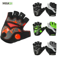 Half Finger Cycling Gloves Anti-skid Bike MTB Bicycle Gel Pad Shockproof Mitts