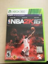 NBA 2K16 - XBOX 360 Better with KINECT - Basketball Game - Great Condition