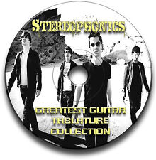 STEREOPHONICS ROCK GUITAR TABS TABLATURE SONG BOOK SOFTWARE CD
