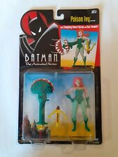 Kenner Batman Animated Series POISON IVY with snapping venus flytrap - carded