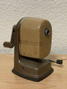 Vintage APSCO Desktop Vacu Hold Mechanical Pencil Sharpener
