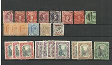 Bahamas. Conjundo de 26 sellos nuevos o usados con valor de 1405.50 Eurod
