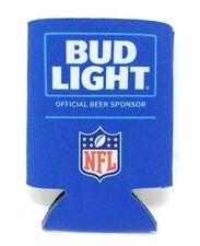 Authentic NFL Bud Light Beer Koozie Coolie Can Hugger Licensed