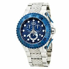 Invicta 12943 Pro Diver Chronograph Blue Textured Dial Stainless Steel Watch
