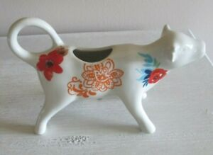 The Pioneer Woman Timeless Flea Market Floral Cow Creamer New