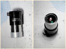 "Italian APLANATIC COMA PLAN APO 2x barlow lens lente objektiv 1,25"" telescope"