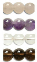 10pcs Gemstone Crystal Beads Round Rondelle Various Colours in 4mm 6mm 8mm 10mm