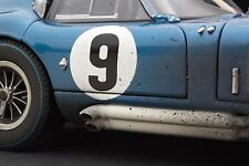Exoto 1965 Cobra Daytona Coupe / Le Mans / Race Weathered / 1:18 / #RLG18009BFLP